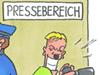 Karikatur der Woche 10 von Timo Essner: NSU-Verfahren in München