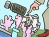 Karikatur der Woche 37 von Timo Essner: Blind für die Wirklichkeit
