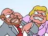 Angela Merkel CDU Martin Schulz SPD Wahlkampf Bundestagswahl #BTW17 Deutschland September 2017 Sommerinterview TV-Duell Kanzler Kanzlerin #DeineWahl