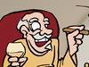 Ren Rentier Weihnachten Advent erster Advent Wortspiel Rentner Pensionär