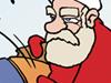 Weihnachtsmann Weihnachtshasser fröhliche frohe Weihnachten Weihnachtszeit Rentier Rudolf Knüppel Sack