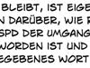 Sigmar Gabriel SPD Zitat Bedauern Respekt Versprechen Wähler Wahlen #BTW17 #BTW2017 #GroKo #GroKo2018 Waffenexporte Sozialdemokraten