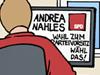 SPD Wahl Vorsitz Partei Parteivorsitz Kandidaten Andrea Nahles Simone Lange Dirk Diderich Rolf Allerdissen