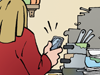 Küche Single Jugendliche Jugendwohnung Junggeselle Schlonz Ranzer Abwaschen Müll Dreck Schmutz Geschirr Flaschen Altglas Pfandgut Abwasch machen Geschirrspüler Apps Appstore Smartphone Handy
