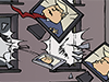 Network movie classic Filmklassiker Filme USA Wahlen USelection Election2020 ElectionNight Präsidentschaftswahl Donald Trump Gesellschaft Kultur Cartoon Timo Essner