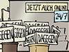 Wirschaft 2020 Hochkonjunktur Branche Entwicklung Verkauf Handel Schilder Demonstrationen Druck Print Schilderwerkstatt Covidioten Coronaleugner Maßnahmengegner Deutschland Corona
