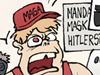 Mandatory masks mosques alt right USA nazi right wing conservatives white supremacists trigger happy rednecks outrage culture